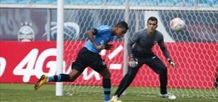 Grêmio treina com portões fechados na Arena…