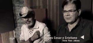"""Sucesso nos anos 80, Carlos Cesar e Cristiano retornam carreira lançando """"Tema para Juliana""""…"""