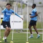 Grêmio realiza trabalho físico no CT Luiz Carvalho com foco no Sport…
