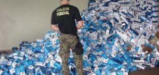 Operação da PF combate contrabando de cigarros no RS…